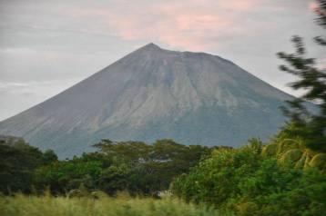Volcano in Leon Nicaragua